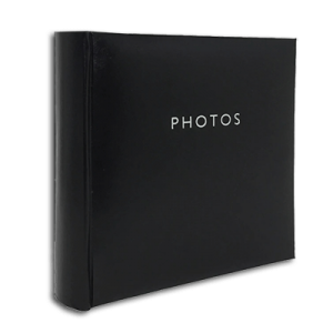 Glamour Black – 200 Photo Slip-In Album