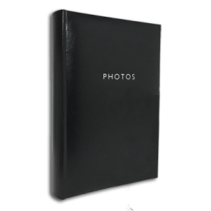 Glamour Black – 300 Photo Slip-In Album