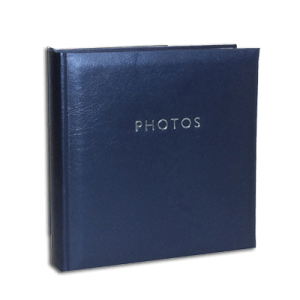 Glamour Blue – 200 Photo Slip-In Album