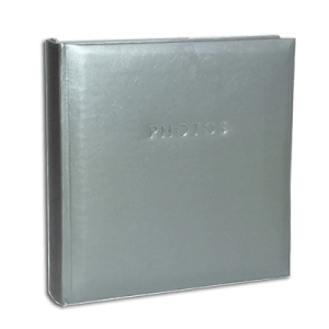 Glamour Silver – 200 Photo Slip-In Album