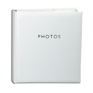 Glamour White – 200 Photo Slip-In Album