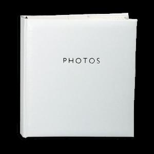 Glamour White – 200 Photo Slip-In Album