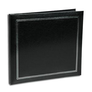 NCL Self Adhesive Economy Black Photo Album