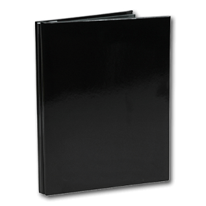 NCL Self Adhesive A4 Slim Black Refillable Photo Album